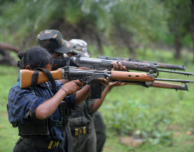 Five injured Maoists were also nabbed in the operation
