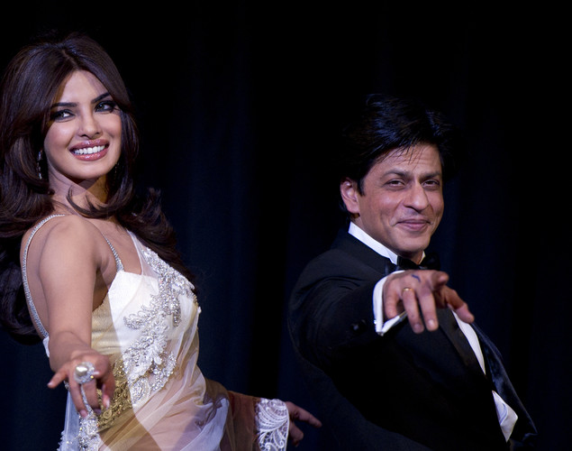 Family man Shah Rukh Khan has found himself in a link-up controversy for the first time in his career. While SRK is maintaining a dignified silence over the issue, PC isn't taking it too well.
