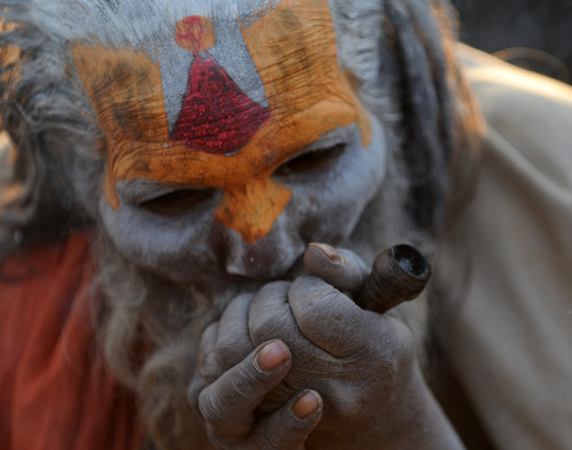 There are 4-5 million sadhus in India alone.