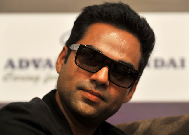 Abhay Deol looks on during a promotional press conference held for 'Shanghai'  in Bangalore