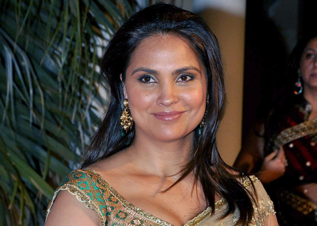 Indian Bollywood actress Lara Dutta attends the L'Oreal Paris Femina Women Awards 2012