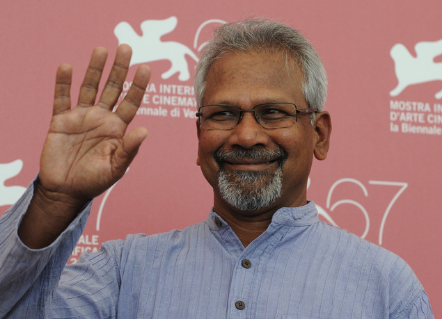Mani Ratnam poses during the photocall of 'Raavanan' at the 67th Venice Film Festival on September 6, 2010 at Venice Lido.