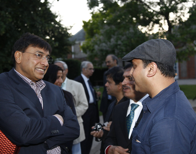 Athletes attend the Team India -Pre-Olympics party at The Serpentine Gallery.