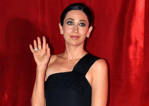 Indian Bollywood actress Karishma Kapoor attends the premier screening of the forthcoming 3D film Hindi film Dangerous Ishhq