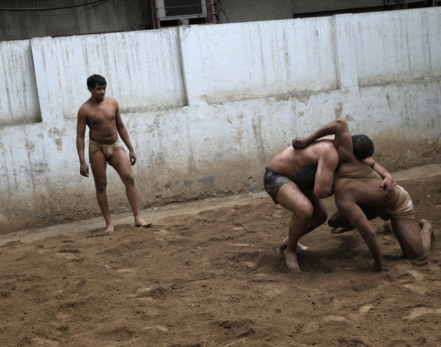 Kushti wrestling is popular in India, Pakistan and Bangladesh.
