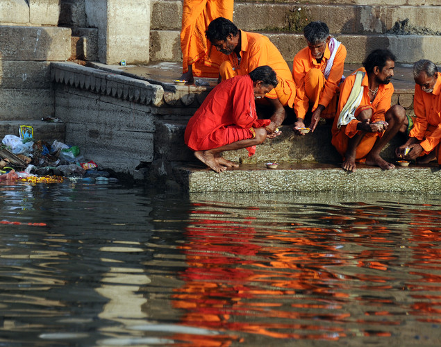 If one dies in the Ganges it is believed that they will be freed from their sins.