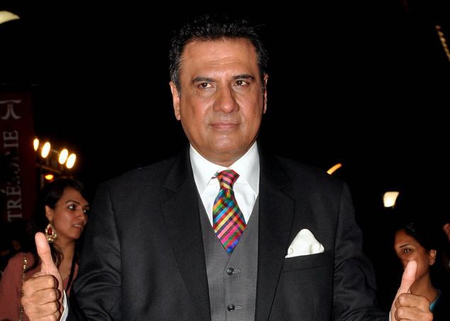 Boman Irani poses during the premiere of Hindi film 'Ferrari Ki Sawaari' in Mumbai