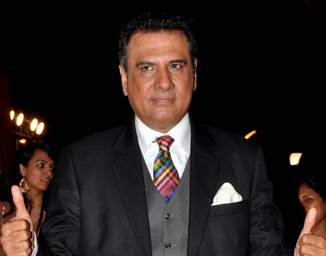 Bollywood film actor Boman Irani poses during the premiere of Hindi film 'Ferrari Ki Sawaari' in Mumbai.