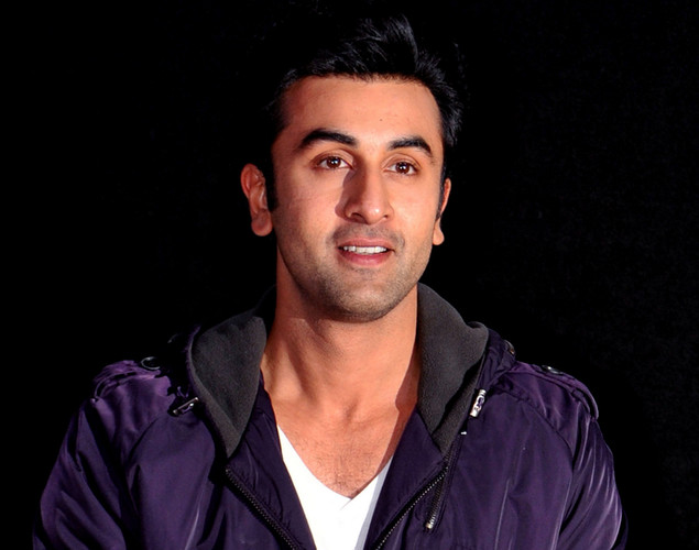 Bollywood actor Ranbir Kapoor arrives for the launch of the upcoming Hindi film, Barfi.