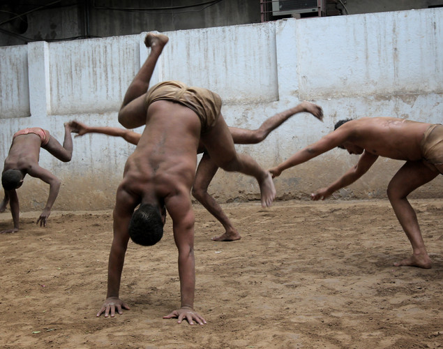Lahore is a well-known kushti city but now the number of wrestlers, also called pahlavans, has dwindled despite a few loyalists struggling to keep the sport alive.