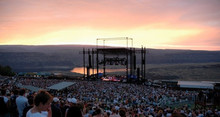 The Gorge Amphitheatre, Quincy, WA, USA