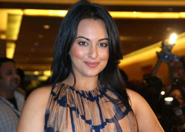 Sonakshi Sinha attends the first day of Lakme Fashion Week (LFW) summer resort 2012