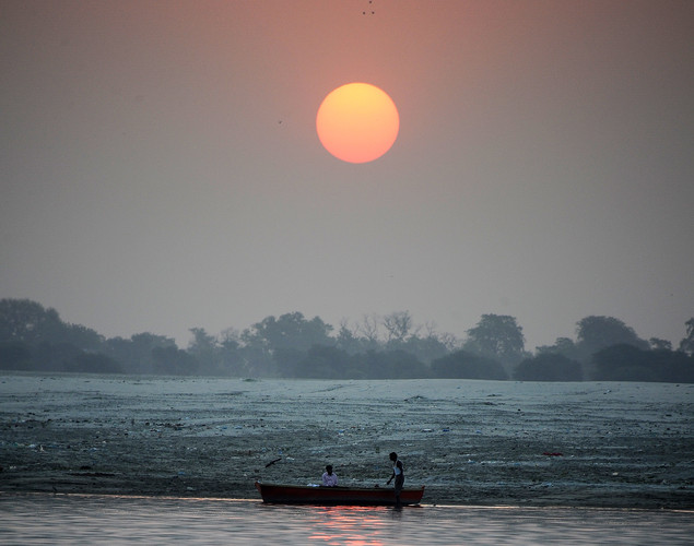 The Ganges is the longest river in India at 1,557 miles long.