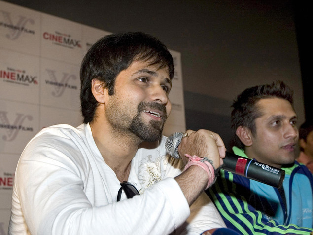 Emraan Hashmi (L) and Bollywood film director Mohit Suri.