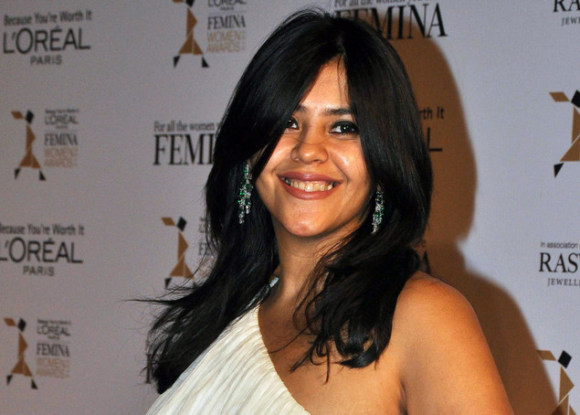 Indian television and film producer Ekta Kapoor attends the L'Oreal Paris Femina Women Awards 2012