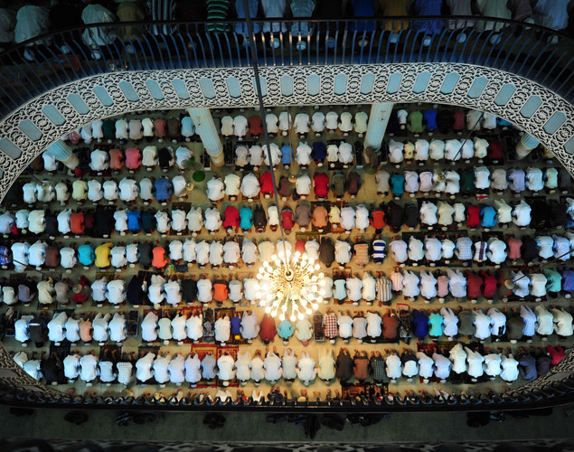 Muslims around the world are celebrating this week Eid al-Fitr, after the sighting of the new crescent moon, marking the end of Ramadan, the Muslim calendar's ninth and holiest month during which followers are required to abstain from food, drink and sex from dawn to dusk.