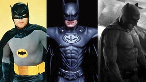 Desde Adam West hasta Ben Affleck: 50 años de evolución del 'Bati-traje'