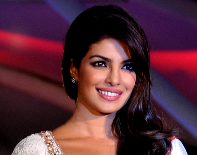 Bollywood film actress Priyanka Chopra walks the ramp during the seventh annual Pidilite-CPAA Charity Fashion Show showcasing designers Manish Malhotra and Shaina NC in support of the Cancer Patients Aid Association.