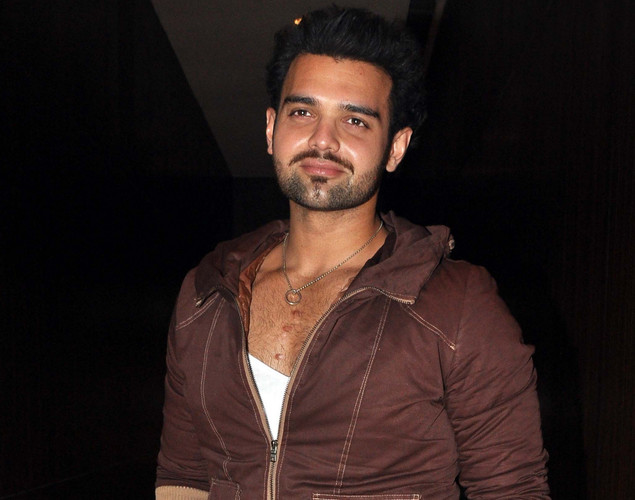Mahaakshay Chakraborty poses for a photo during the launch of upcoming Hindi film Tukkaa Fitt directed by Shawn Arranha in Mumbai.
