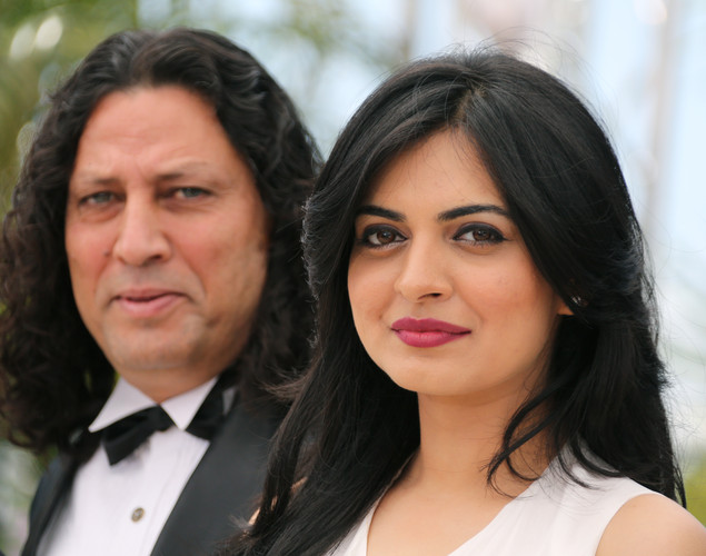 Ashim Ahluwalia and Niharika Singh pose during the photocall of 'Miss Lovely' presented in the Un Certain Regard selection at the 65th Cannes film festival.