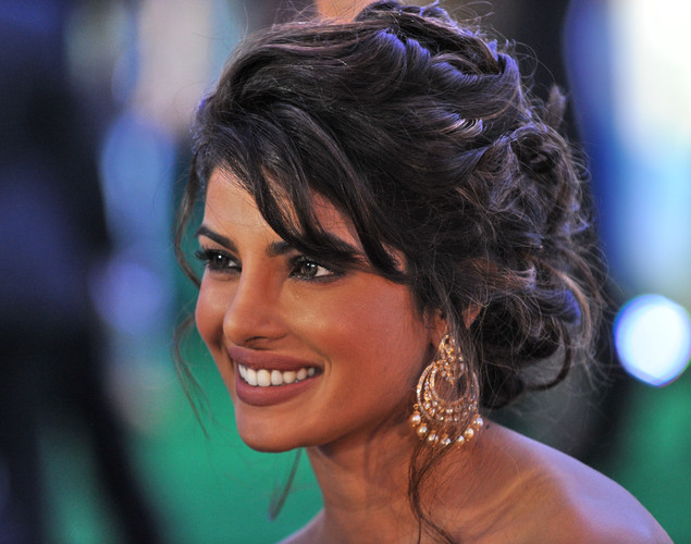 Bollywood leading actress Priyanka Chopra arrives during the International Indian Film Academy (IIFA) awards in Singapore.