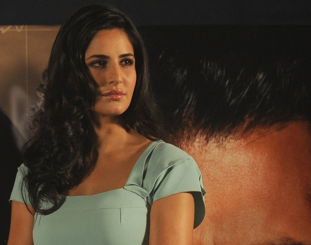"Bollywood actress Katrina Kaif attends a promotional event for their forthcoming film ""Ek Tha Tiger"" in Mumbai."