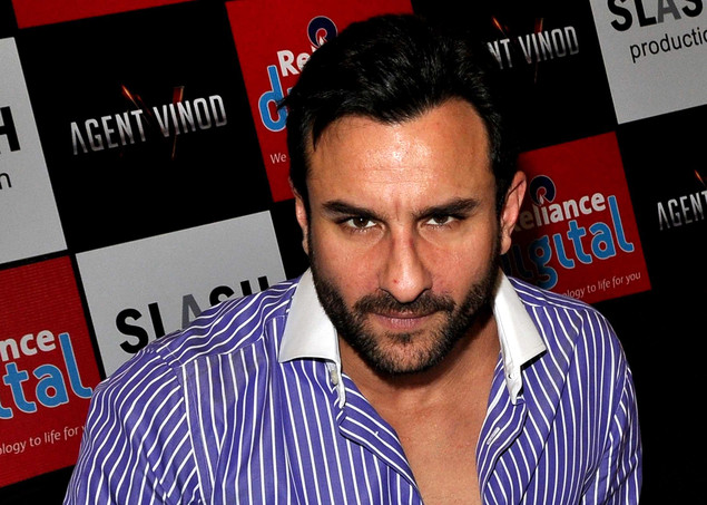 Indian Bollywood actor Saif Ali Khan