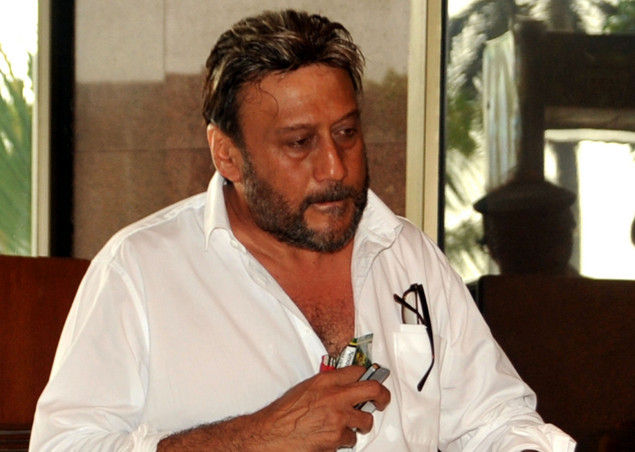 Jackie Shroff attends a prayer function in memory of late actor Rajesh Khanna in Mumbai on July 21, 2012.