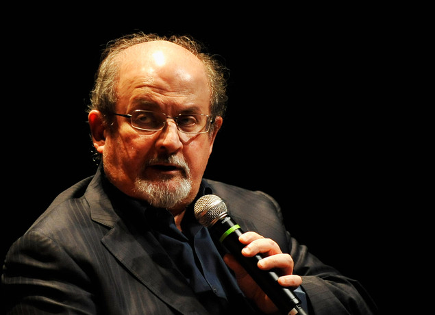 Writer Salman Rushdie