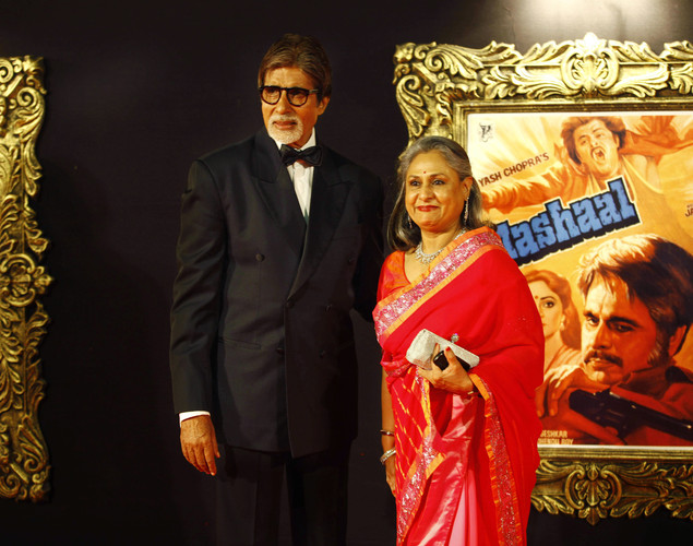 Bachchan, who acted in several of Chopra's blockbusters, said the entire Hindi movie industry was honoring the film, which was opening in Indian theaters Tuesday.