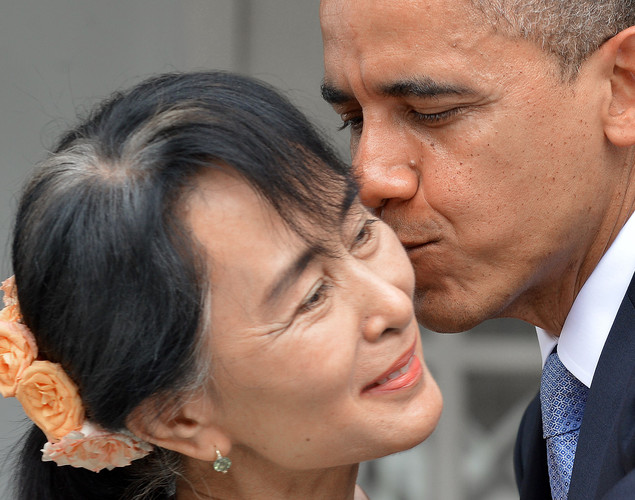 Nov. 13, 2010: The last of various periods in Suu Kyi's detention expires, and she is freed.