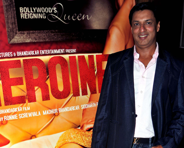 Madhur Bhandarkar poses during the first look launch of his film 'Heroine' in Mumbai on July 25, 2012.