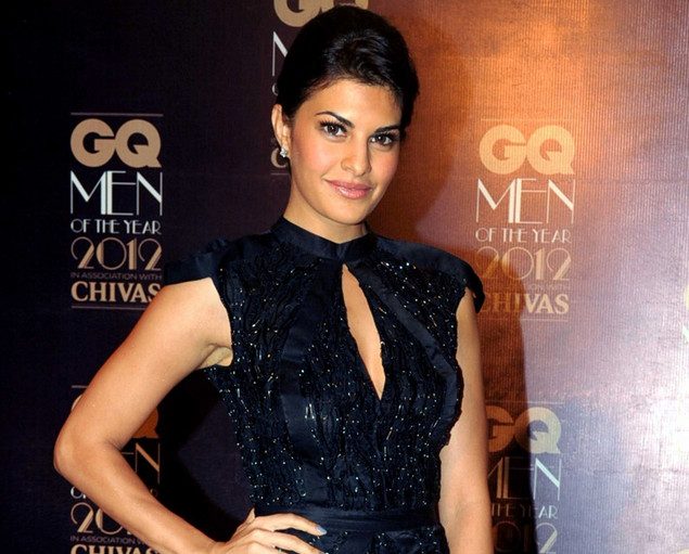 Jacqueline Fernandez poses during the 'GQ Men of the Year Awards 2012' ceremony in Mumbai on September 30, 2012.