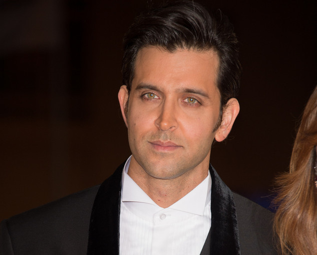 Indian actor Hrithik Roshan arrives for the tribute to Hindi cinema at the 12th Marrakech International Film Festival.
