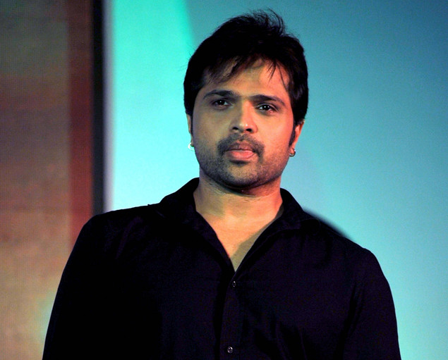 "Himesh Reshmmiya poses during a media event for the television musical show ""Sur-Kshetra"" In Mumbai on August 30, 2012."