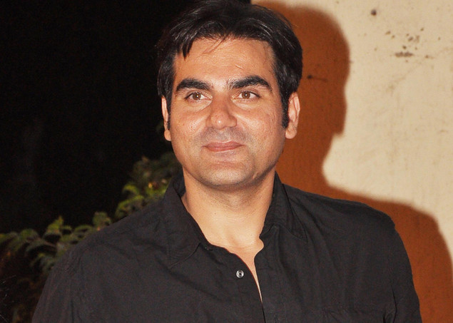 Indian Bollywood actor Arbaaz Khan attend the launch of the Kallista Spa and Salon in Mumbai.