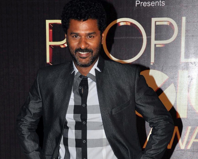Indian Bollywood actor Prabhu Deva poses as he attends the People's Choice Awards ceremony in Mumbai.
