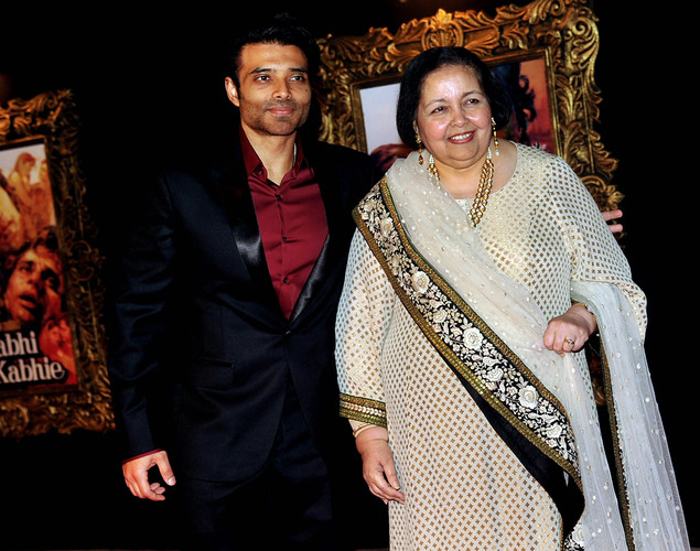 Chopra's wife Pamela said the premiere was their way of celebrating Chopra's illustrious life rather than mourning his absence.