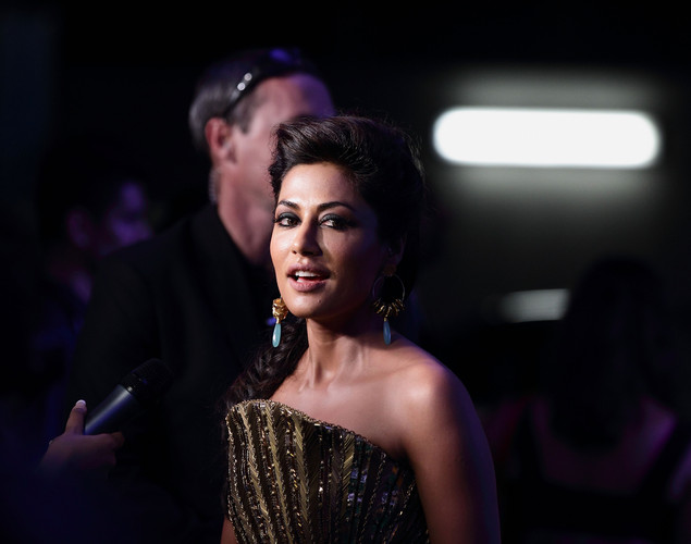 Bollywood actress Chitrangada Singh poses at the IIFA awards green carpet event at the 2012 International India Film Academy Awards at the Singapore Indoor Stadium.
