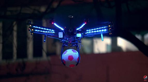 Pepsi Drone