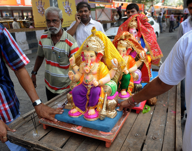 The Ganesh Chaturthi festival, a popular 11-day religious festival which is annually celebrated across India, this year running September 19-29 and culminating with the immersion of the idols in the Arabian Sea and local water bodies.