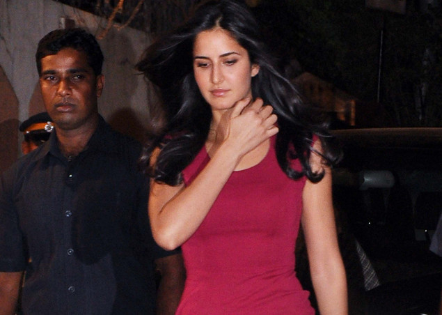 Katrina Kaif attends the launch of the Kallista Spa and Salon in Mumbai on April 20, 2012.