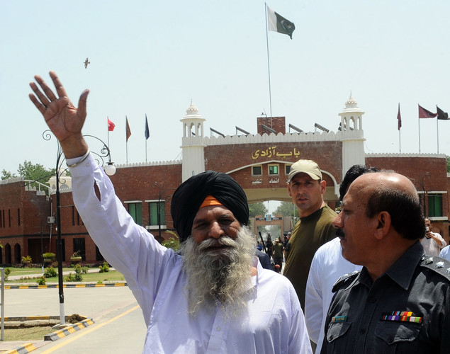 Singh was freed after spending three decades in a Pakistani prison for spying.