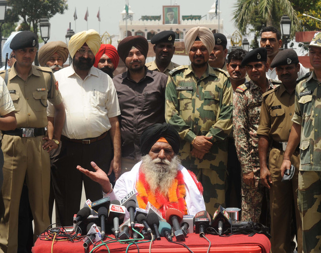 Surjeet's release came in the midst of the controversy and flip-flop over the release of Sarabjit Singh.