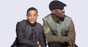 """Nico & Vinz Behind the Scenes Interview at the """"Am I Wrong"""" U.S. Music Video Shoot"""