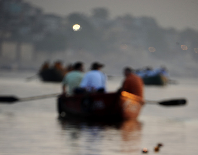 The water from the Ganges is believed to hold healing powers that can cure deadly diseases