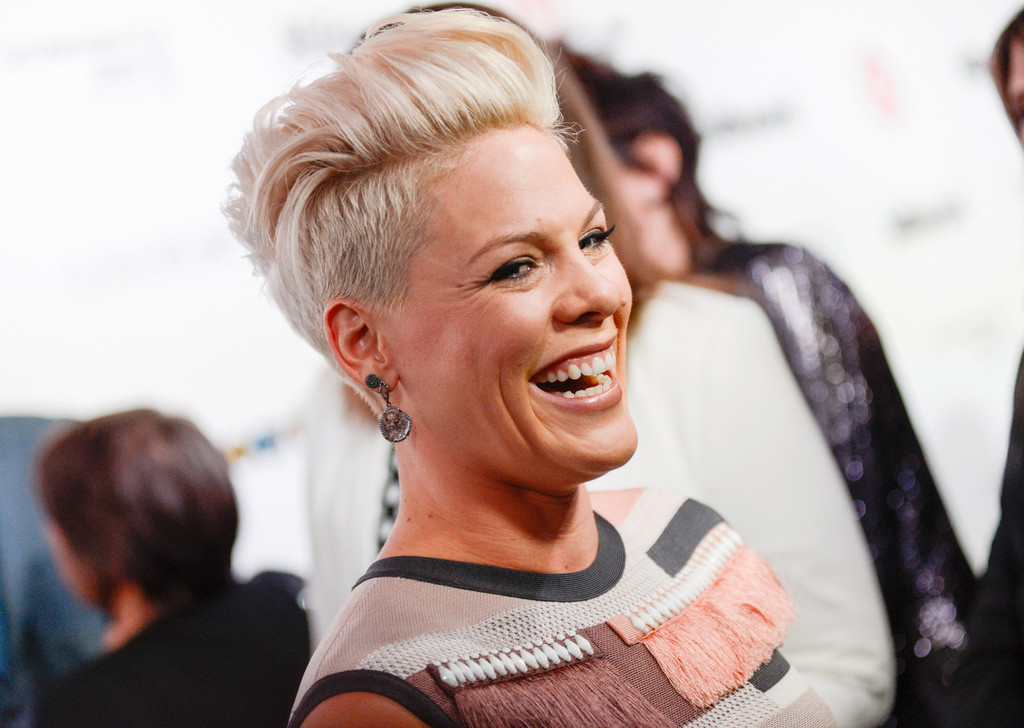 Pink: Give husband some credit for song's success