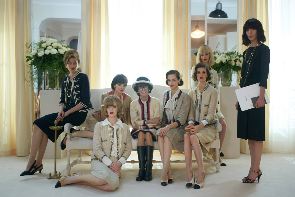 Chanel takes us to the set of Karl Lagerfeld's 'The Return'