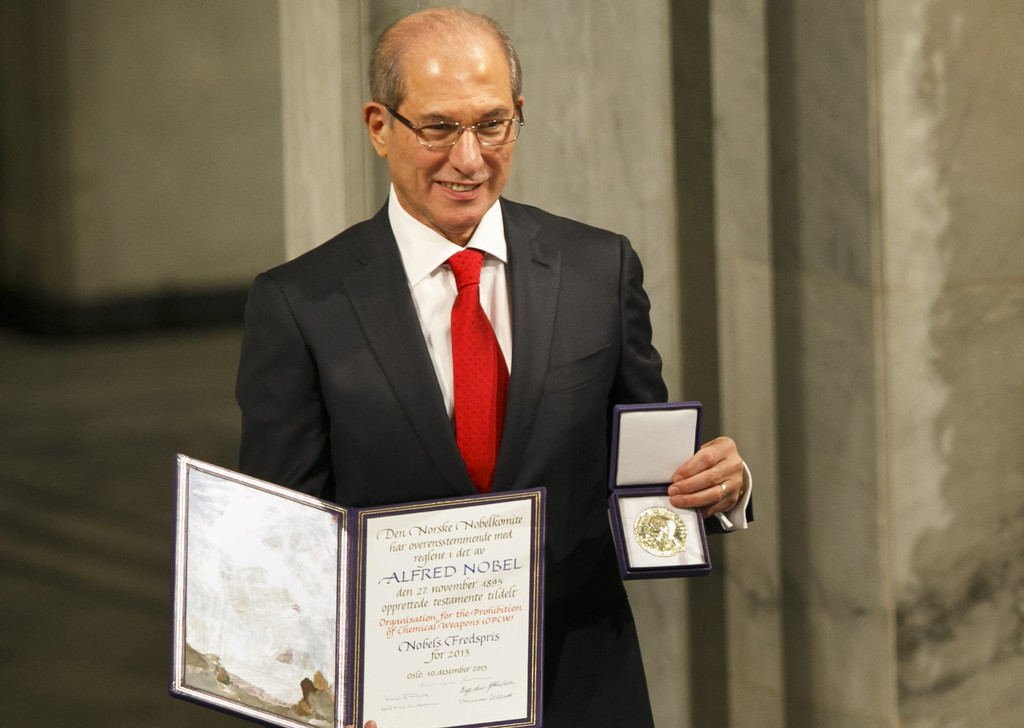 Weapons watchdog receives Nobel Peace Prize