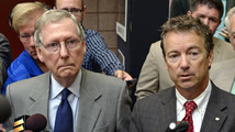 Rand Paul, Mitch McConnell
